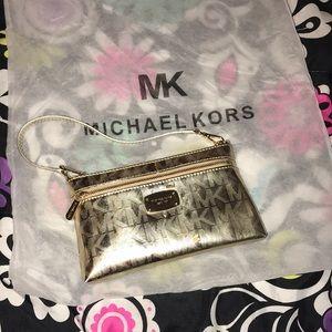 Authentic Gold Michael Kors Purse